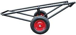 300kg Carpet Material Handling Barrow Trolley Pneumatic Wheels