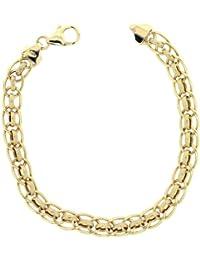 Adara 9 ct Yellow Gold Rollerball Bracelet of 19.2 cm
