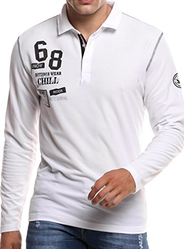 COOFANDY POLO NEW POLOSHIRT T-SHIRT SHIRT HEMD PARTY SLIM HERREN KURZARM PIQUE WOW (Polo-shirt Pique Sleeve)