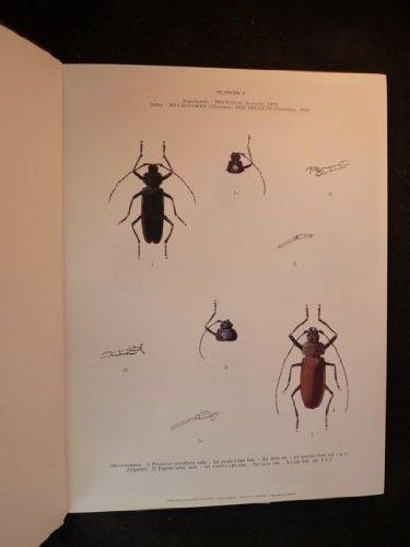 Atlas des Longicornes de France : Peints d'après nature par Robert Bijiaoui