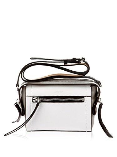 DKNY , Sac bandoulière pour femme blanc Blanc/gris