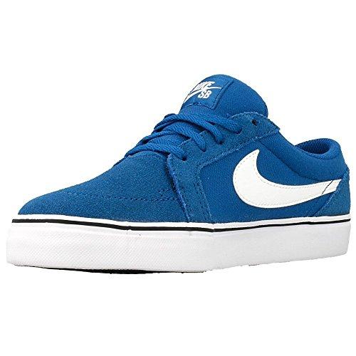 Nike Jungen Satire Ii (Gs) Sneakers Azul / Blanco / Negro (Brigade Blue / White-Black)