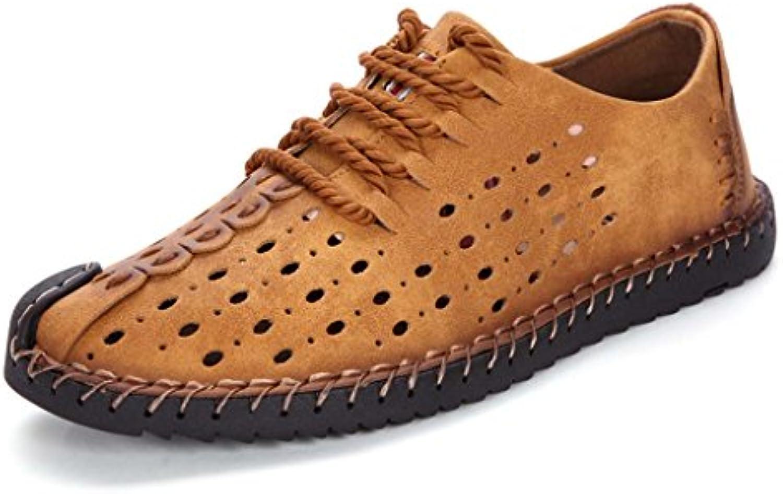 ZXCV Outdoor Schuhe Freizeitschuhe Outdoor Reisen Bergschuhe Mode Schuhe Herrenschuhe ( Farbe : F   größe : 39 )