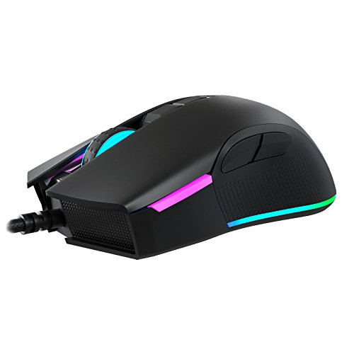 Newskill EOS - Ratón Gaming RGB (16000 dpi) Color Negro