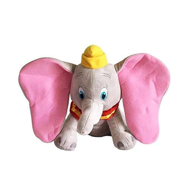 LIUMSJ 1pcs 30cm Dumbo Elefante Regalo Juguetes de Peluche Animales de Peluche Juguetes Suaves for el bebé Relleno for la colección de la muñeca