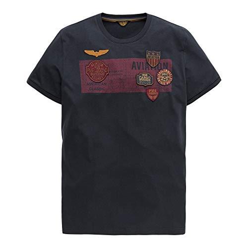 PME Legend Short Sleeve R-Neck Play - T-Shirt, Größe_Bekleidung:XXL, Farbe:Salute