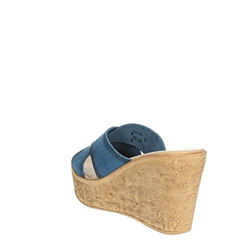 Cinzia Soft IG9661 001 Mules Femme Bleu clair