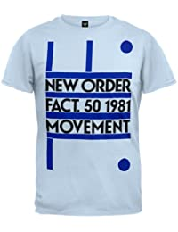 Old Glory - New Order - Mens Fact 50 1981 Movement Soft T-shirt