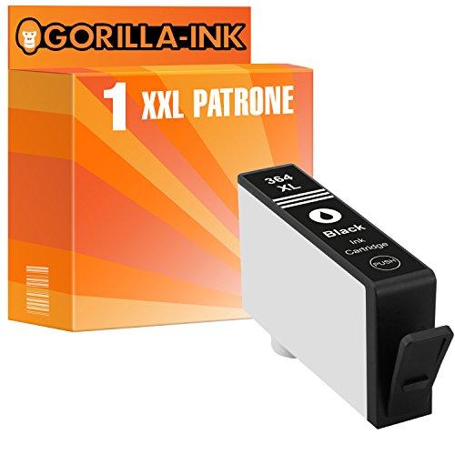 Preisvergleich Produktbild Gorilla-Ink® 1 Tinten-Patrone XXL kompatibel für HP 364 XL Schwarz Deskjet 3070 3070 A 3070 AIO 3520 3520 E 3520 E AIO 3520 V 3520 W 3522 3522