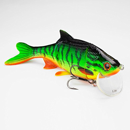 WestinRicky the Roach Real Swimbait Low Floating Crazy Firetiger