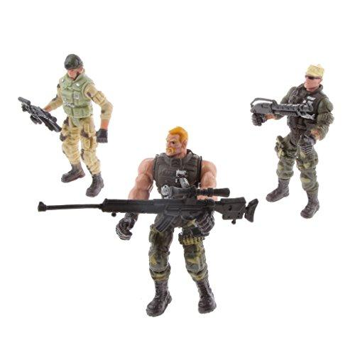 che Polizei Soldaten Aktion Figure Mit Waffen Spielzeug Kreative Weihnachtsgeschenke Für Kinder ()