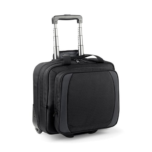 Quadra tungstène Bureau Mobile à Roulettes Multi Pocket sac grand COMPaRTIMENT A BAGAGES