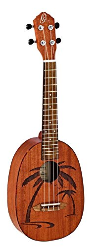 Ortega Guitars Piña Serie Ukelele rupa5mm (S)