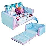 Frozen 286FZO Disney - Sofá y Tumbona hinchables para niños (2 en 1), Color Azul