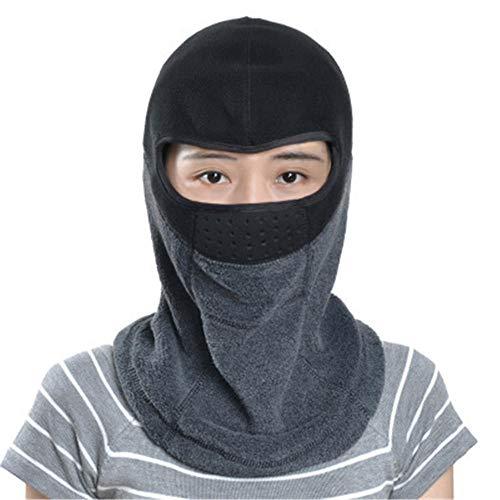 ddmlj Maschera Calda A Cavallo Uomini E Le Donne del Cappello Antivento Protezione dal Freddo alla Polvere Testa Maschera Moto Il Viso@4
