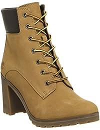 Timberland Womens Allington 6 Inch Wheat Nubuck Boots 38 EU