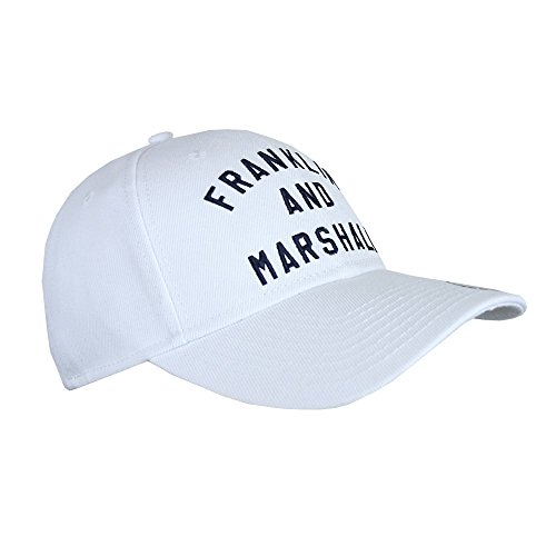 Franklin-Marshall-CPUA907-Baseball-Hat-White