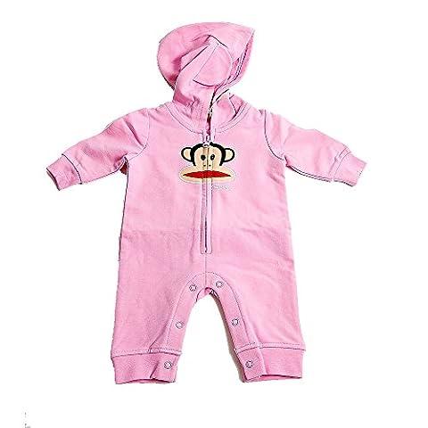 Paul Frank Julius Baby Hooded Jumpsuit (12 MONTHS)