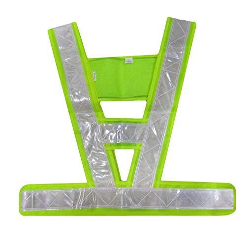 HoganeyVan 2019 Newest V-Shaped Reflective Safety Vest Traffic Safety Clothing High Visibility Light-Reflecting Vests Anti Freeze Overalls Traffic Safety Vest
