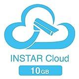 10GB Speicherkontingent für die INSTAR Cloud (10GB für 1 Jahr / HTML5 Videowiedergabe / erweiterte Bewegungserkennung / Verwaltung von Alarmaufnahmen / Online NAS / NVR)
