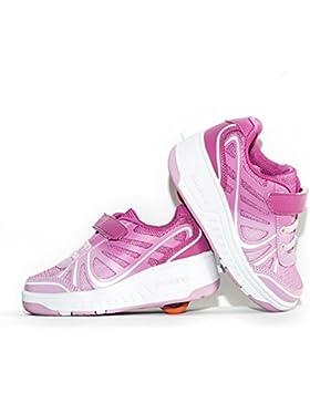 Usay like Zapatillas con ruedas Envio 24H Zapatillas con ruedas Color Rosa Verde Azul Negra Para Niña Niño Talla...