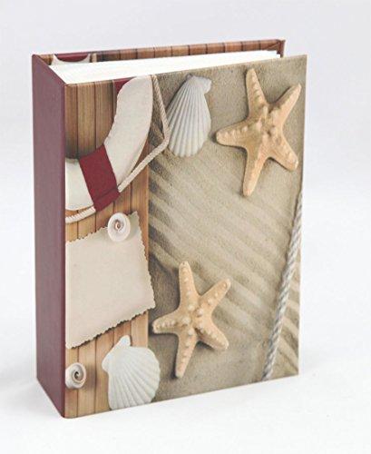 Ideal Compass Fotoalbum für 100 Fotos in 10x15 cm Einsteck Foto Album Memoalbum: Farbe: Motiv 2