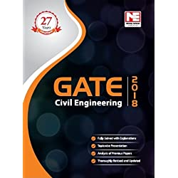 GATE 2018: Civil Engineering Solved Papers
