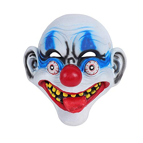 Für Scary Kostüm Jungen Clown - Asien Horror Clown Latex-Kostüm Maske Scary Halloween Cosplay Partei-Dekoration Props