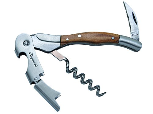 Baladéo Couteau à Cave Olive en Acier Inoxydable Multicolore Taille Unique