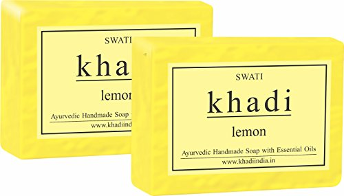 Khadi Lemon Soap 250 Gm.  available at amazon for Rs.140