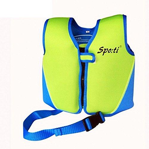 Titop Infant babyoutdoor Sport Schwimmen Jacke unter 20lbs Kinder Schwimmen Weste Gelb Klein für 1–3Jahre