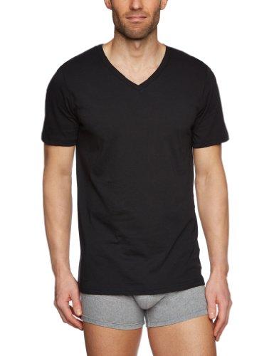 tommy-hilfiger-mens-cotton-v-neck-2-pack-t-shirt-caviar-large