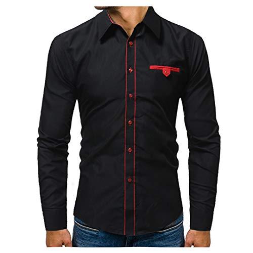 Mode Männer Shirt Druck Kleid Shirt Kurzarm Slim Fit Masculina Casual Männlichen Shirts Modell Black Asian Size XL