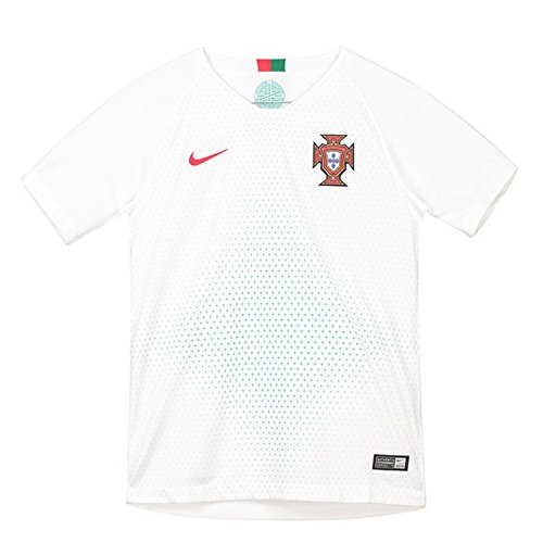 fe5b4261c cool number tee shirts. Nike Portugal Maillot Away Coupe du Monde 2018  Garçon, Blanc, FR (Taille Fabricant