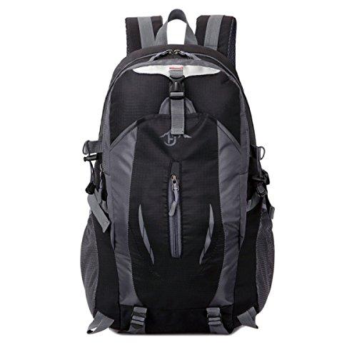 Outdoor Bergsteigen Rucksack Multifunktions Sport Schulter Tasche Black