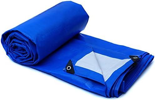 GUOWEI Telone Tela Linoleum Ombra Prossoezione Prossoezione Prossoezione Solare Impermeabile Isolamento Antigelo Morbido Plastica All'aperto (Coloreee   blu, dimensioni   5.8x3.8m) | Usato in durabilità  | Materiali Di Altissima Qualità  4deb9f