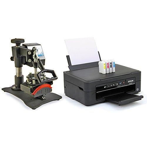 PixMax - Prensa Térmica Sublimación Gorras Impresora