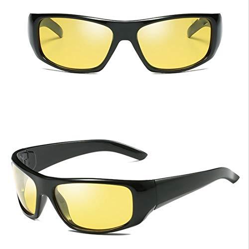 Yiph-Sunglass Sonnenbrillen Mode Baseball Radfahren Angeln Golf Superlight Rahmen Polarisierte Mode Sport Nachtsicht Sonnenbrille Für (Farbe : 08)