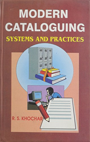 Modern Cataloguing: Systems and Practices