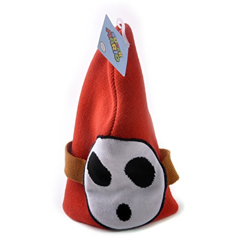 Shy Guy Nintendo Super Mario Brothers Beanie Hat