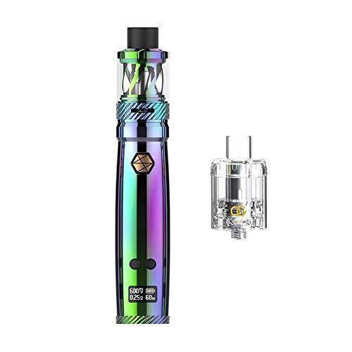 E Zigarette Uwell Nunchaku Kit Vaporizer Akku 80W Elektronische Zigarette 5ml-ohne Tabak - ohne Nikotin (Rainbow) -