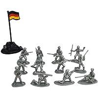 200 STÜCKE 2 cm Armee Grün Armee Männer Soldaten Spielzeug Battlefield