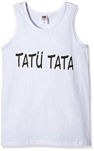 tatu-tata-tank-top-white-s