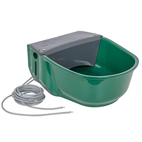 VOSS.farming beheizte Schwimmertränke Thermo S35-24V | 31 Watt | automatisches Thermostat | Spezialkunststoff | Frostschutz Pferde Rinder Galloways Schafe Ziegen Hunde Tränke Selbsttränke