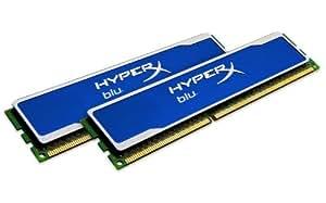 HyperX Blu Series 8 GB 1600 MHz DDR3 CL9 DIMM Gaming Memory Kit (2 x 4 GB) - XMP Ready