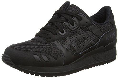 ASICS Gel-lyte Iii H6b3n-9090-5, Unisex-Erwachsene Sneakers Schwarz (black/black 9090)
