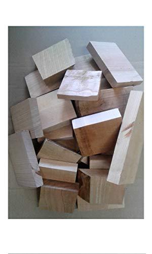 Kirsche Wood chunks 1 KG Räucherklötze cherry BBQ Smoker oder Räucherholz