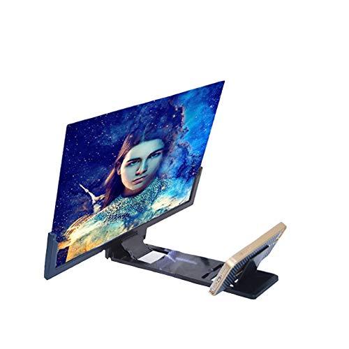 XYEQZ 14-Zoll-3D-Handy-Lupe Faltbarer Bildschirm-Verstärker Für Mobiltelefone Anwendbar Auf Alle Smartphones Wie iPhone Samsung