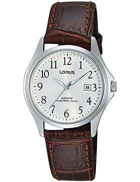 Lorus Watches Damen-Armbanduhr Klassik Analog Quarz Leder RH713BX9