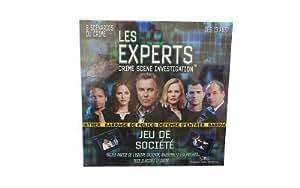 """Tilsit - Jeu de société - Les Experts """"Las Vegas"""" - Scène De Crime"""